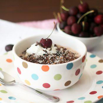 Cherry & Chocolate Overnight Oats