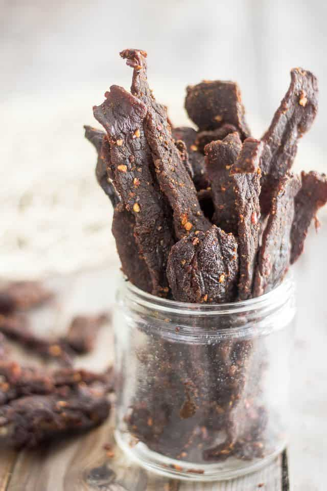 Homemade All Natural Beef Jerky - No dehydrator required