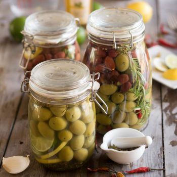 Olives, Kicked-Up a Notch!