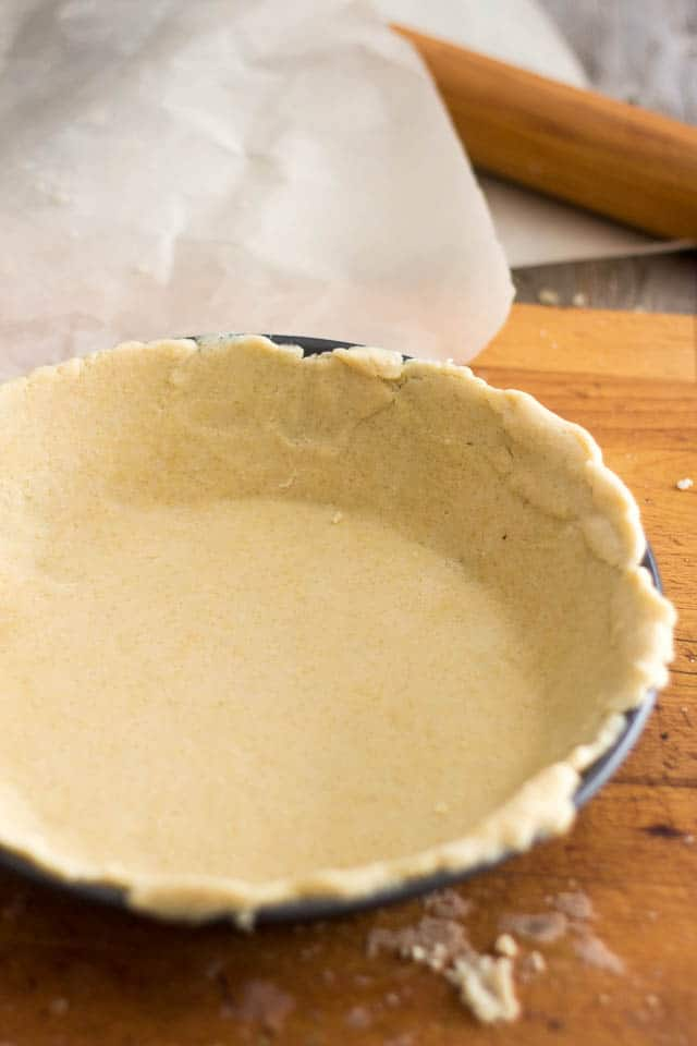Paleo Pie Crust | by Sonia! The Healthy Foodie