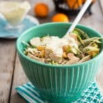 Turkey Broccoli and Clementine Salad   by Sonia! The Healthy Foodie