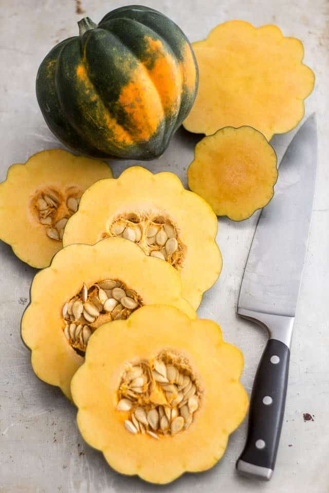 Sliced Acorn Squash | by Sonia! The Healthy Foodie