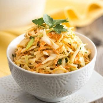 Squeaky Clean Coleslaw – Whole30 compliant