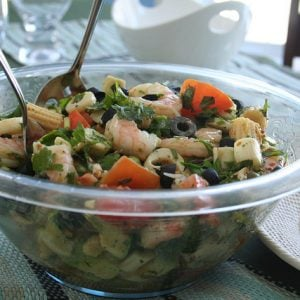 Cold Shrimp Salad