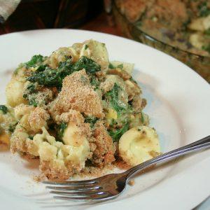 Cauliflower, Spinach and Egg Casserole