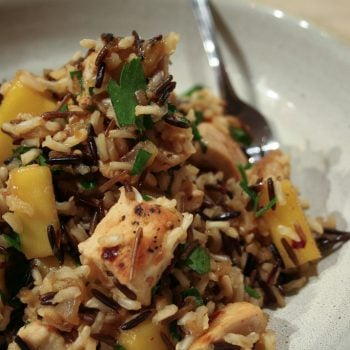 Mango and Chicken Wild Rice