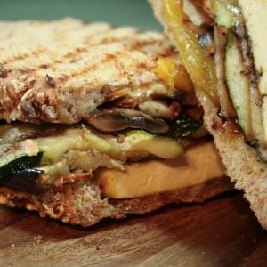 Grilled Vegetables Panini