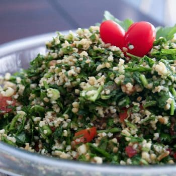 Tabouleh (and Birthday Party!)