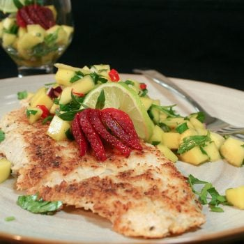 Coconut Crusted Pangasius Fillet