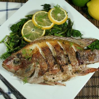 Pan Fried Whole Tilapia