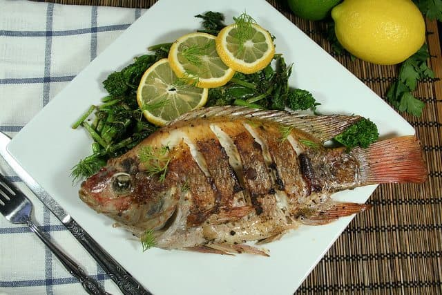 Pan Fried Whole Tilapia The Healthy Foodie