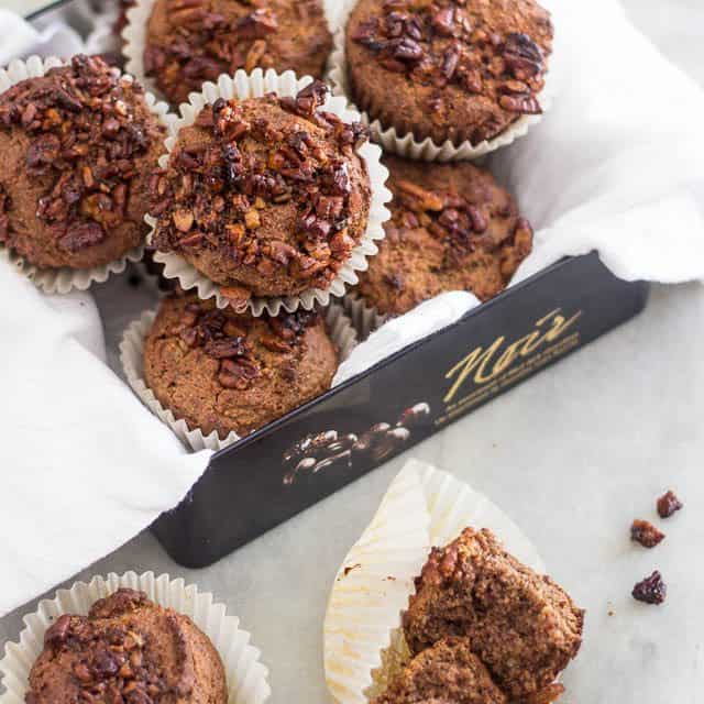 Buttered Pecan Muffins