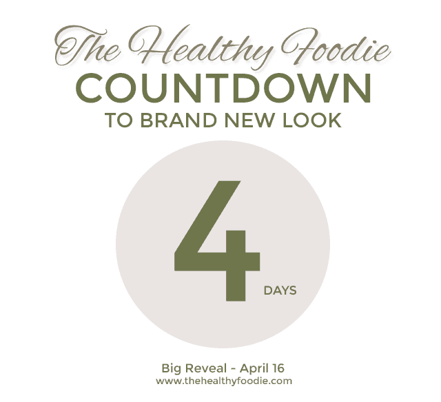 The Healthy Foodie - Countdown to new look