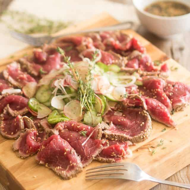 Beef Tataki for Two