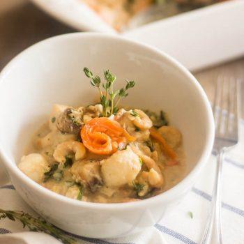 Seafood Florentine Casserole