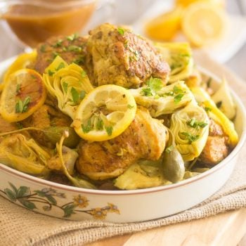 Lemon & Artichoke Slow Cooker Chicken