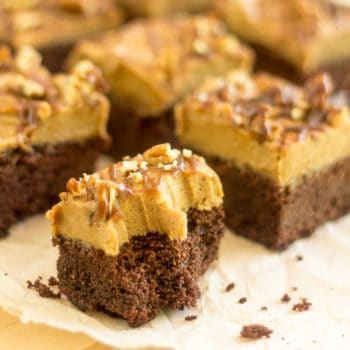 Salted Caramel Brownies – Of course, they're paleo!