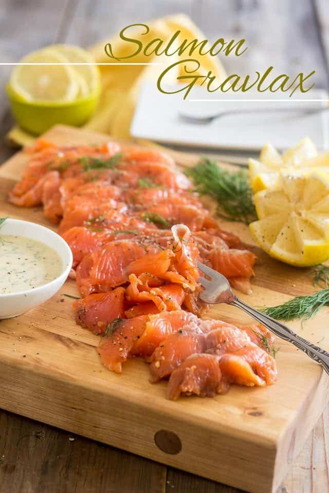 Salmon Gravlax Tartare On Crisp Potato Slices Recipe — Dishmaps