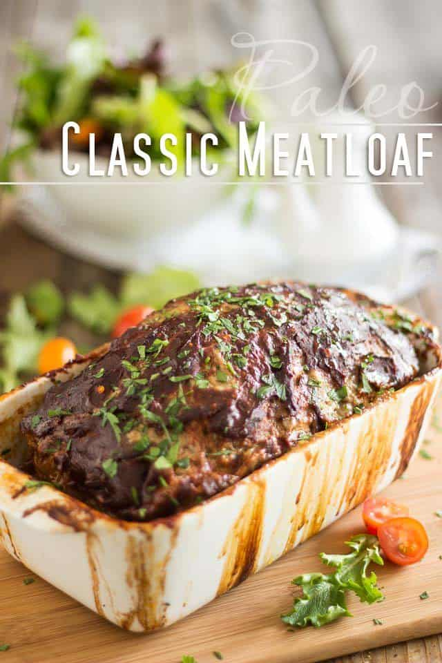 Classic Meatloaf – The last meatloaf recipe you'll ever need!