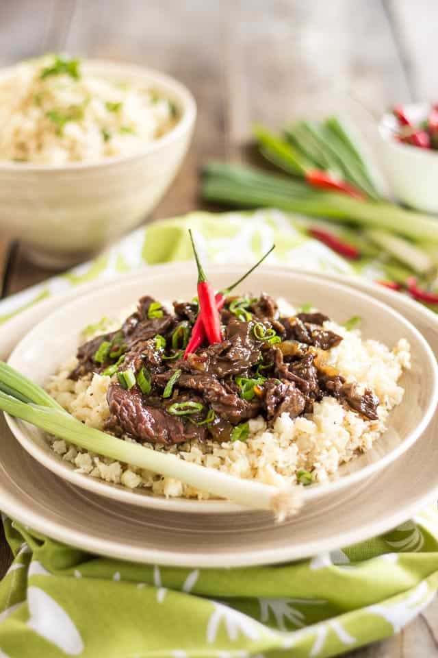 Mongolian Beef | www.thehealthyfoodie.com