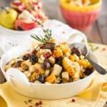Butternut Squash Pear Chestnut Salad   thehealthyfoodie.com