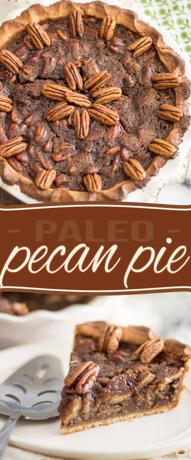 Even better than the real thing, this Paleo Pecan Pie is sweet, silky smooth and tastes like a million bucks!