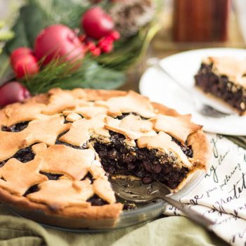 Paleo Raisin Pie