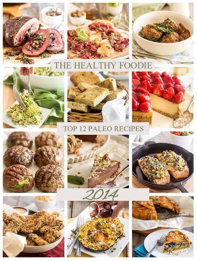 Top 12 Paleo Recipe Picks 2014 | thehealthyfoodie.com