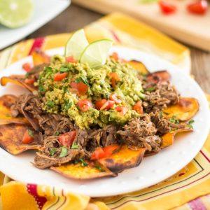 Mexican Lamb Barbacoa – Nacho Style