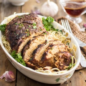 Ginger Garlic Slow Cooker Pork Loin