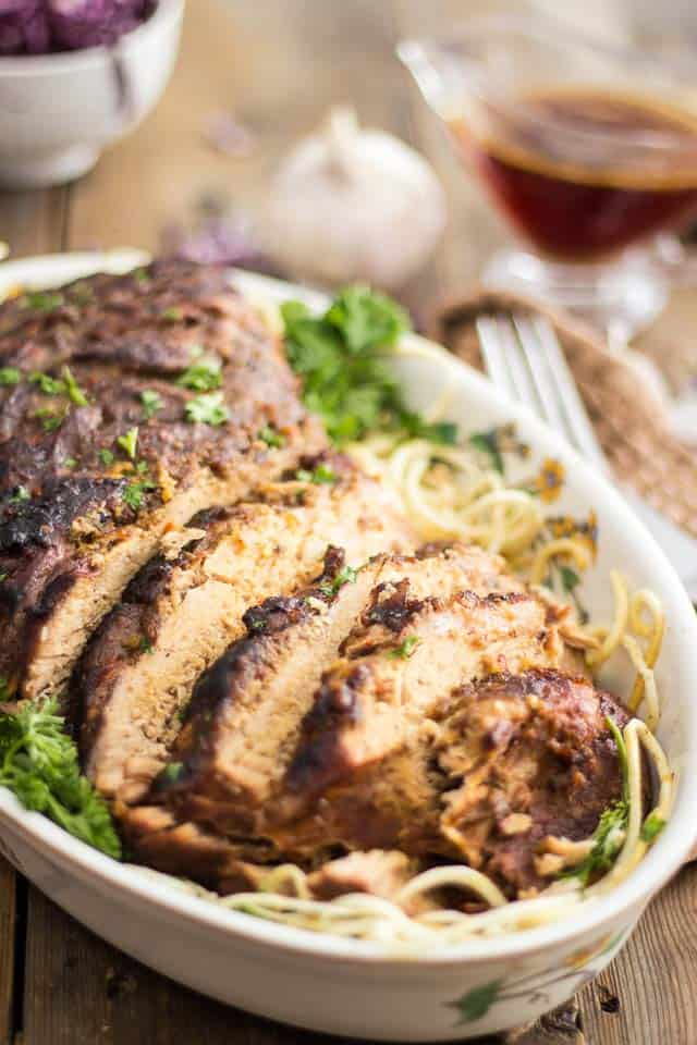 Ginger Garlic Slow Cooker Pork Loin Thehealthyfoodie Com