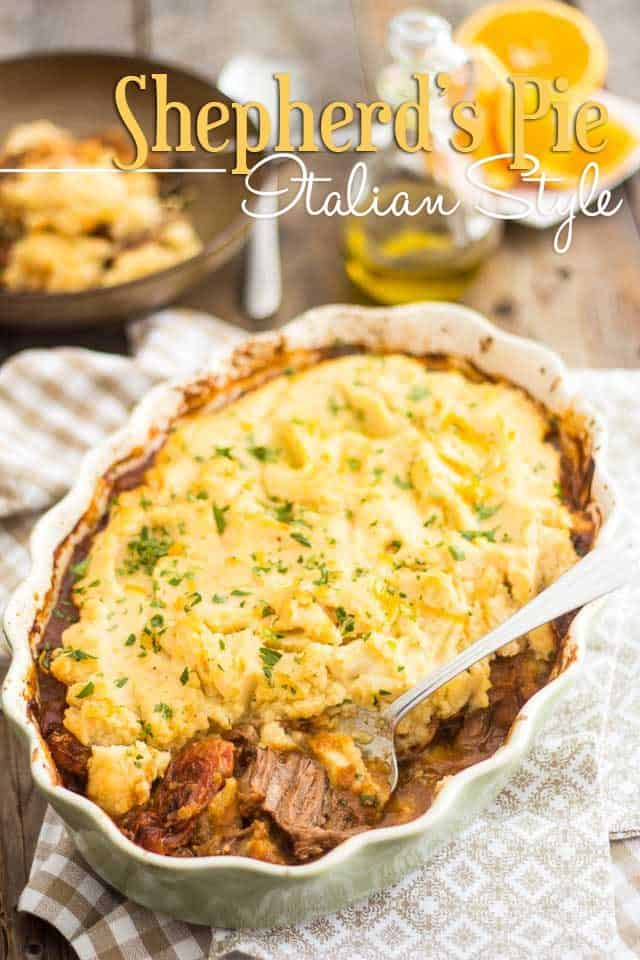 Shepherds Pie Italian Style | thehealthyfoodie.com