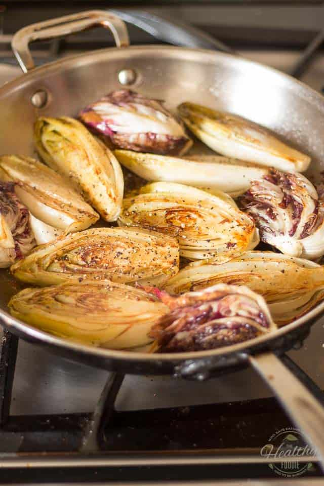 Pan Seared Belgian Endives | thehealthyfoodie.com