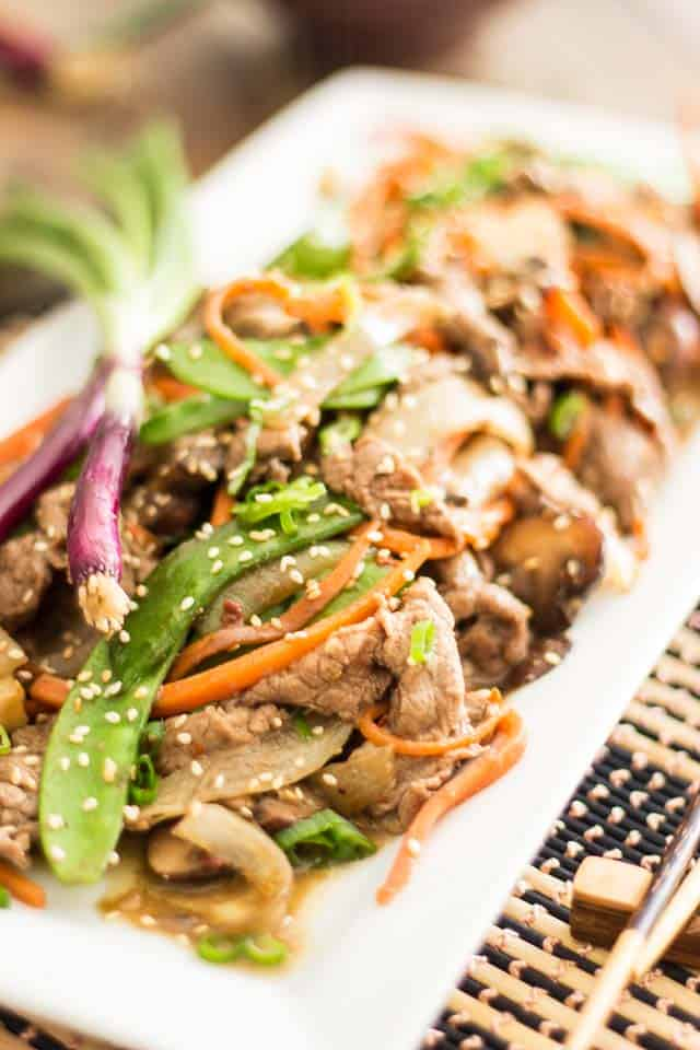 Quick and Easy Paleo Szechuan Beef Szechuan Beef