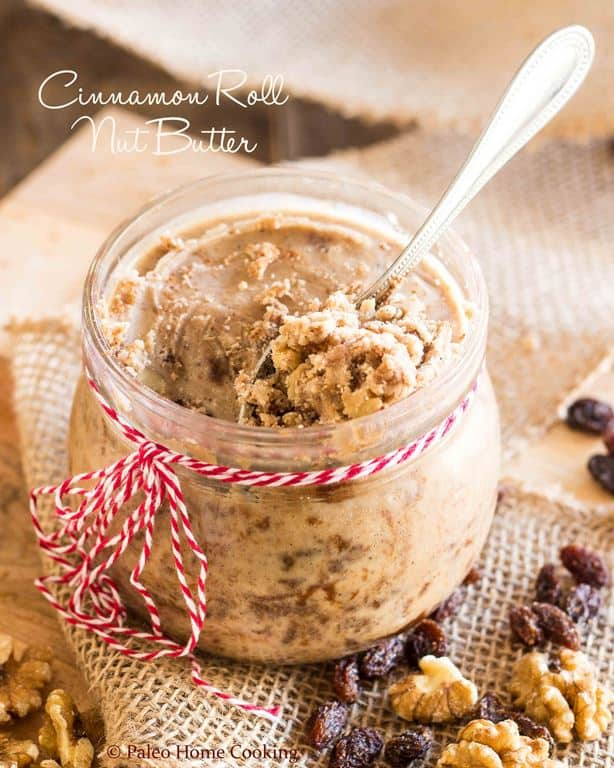Cinnamon Roll Nut Butter | thehealthyfoodie.com