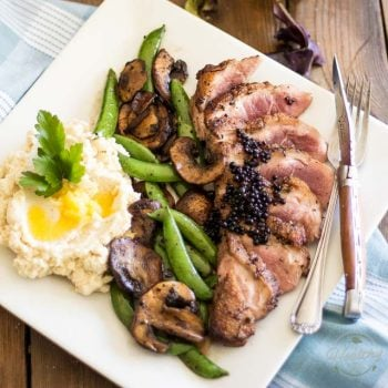 Easy Pan Seared Duck Breast