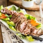 Maple Glazed Pork Tenderloin | thehealthyfoodie.com