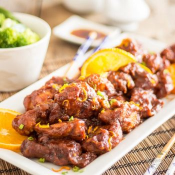 Paleo Orange Sesame Chicken