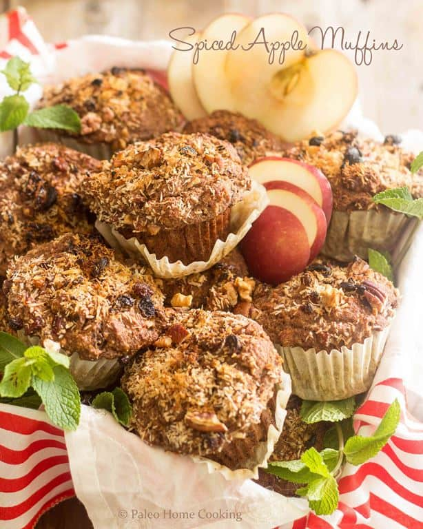 Spiced Apple Muffins | thehealthyfoodie.com