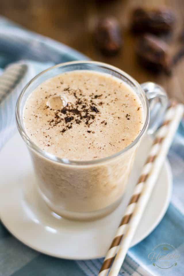 Vanilla Honey Post-Workout Shake | thehealthyfoodie.com