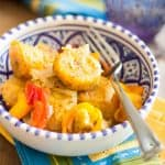 Baked Plantains and Sweet Peppers | thehealthyfoodie.com