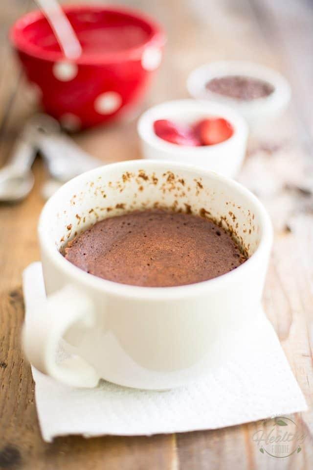 Minute Chocolate Mug Cake   the