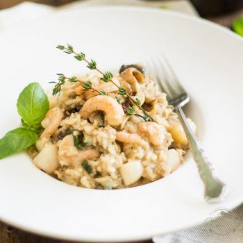 Seafood and Wild Mushroom Risotto