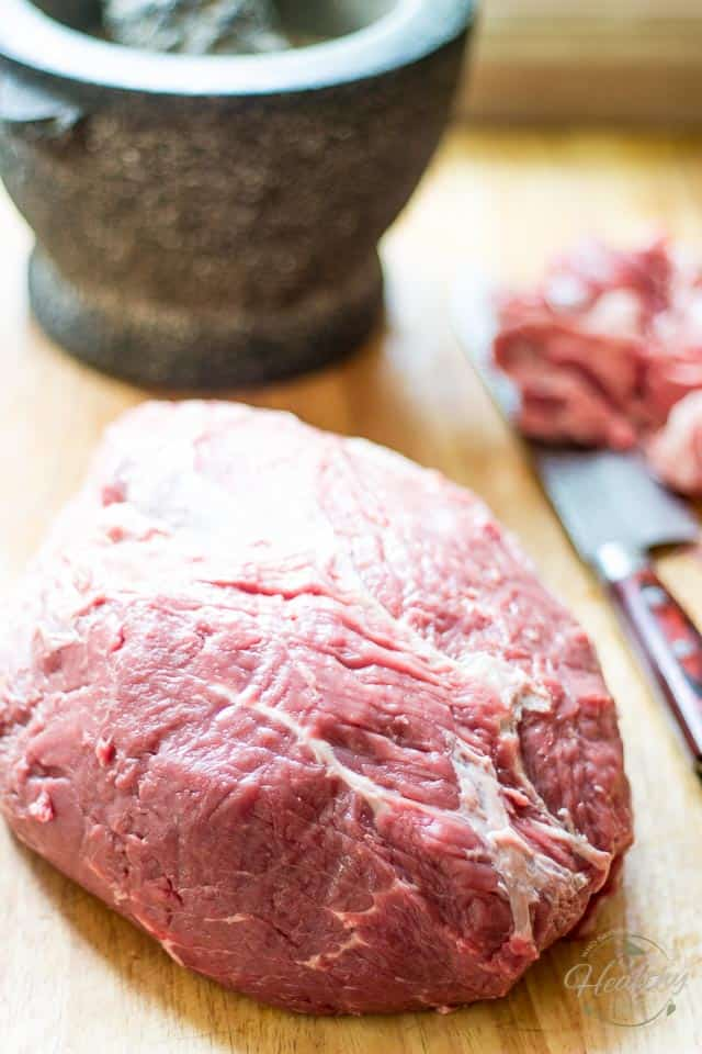 Perfect Sirloin Beef Roast | thehealthyfoodie.com