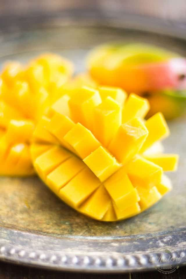 Spicy Mango Salsa   thehealthyfoodie.com