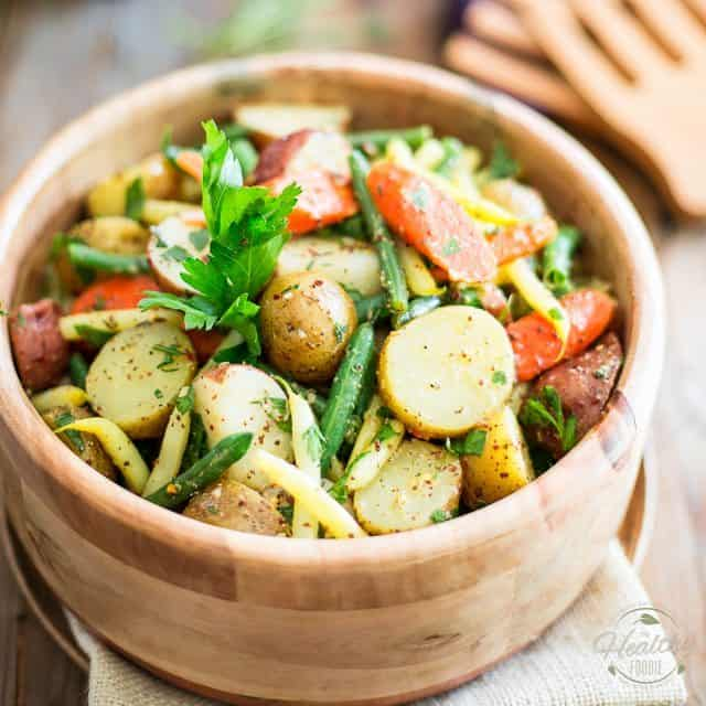 Depending on what you put in your potato salad will depend on how long your salad will last. If you put eggs in your salad then you have 3 days to use it up in. If you omit the eggs then you have about 5 days as long as the salad doesn't sit out and get warm since it has mayonnaise in it.