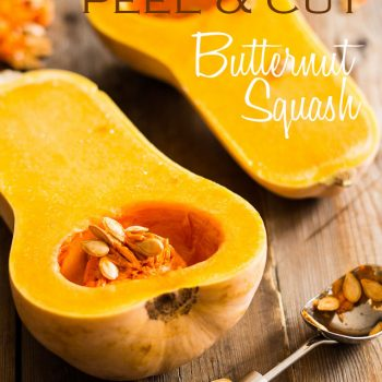 How to Easily Peel and Cut Butternut Squash