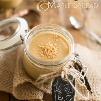 Macadamia White Chocolate and Maple Spread