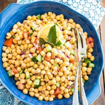Quick & Easy Chickpea Salad