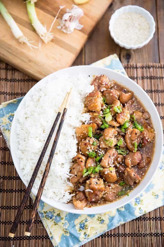 Honey Sesame Chicken | thehealthyfoodie.com